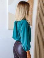 Блуза DNKA р41498/1 54-56 Бирюзовая (2000000515403) - изображение 2