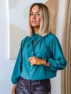 Блуза DNKA р41498/1 54-56 Бирюзовая (2000000515403) - изображение 3