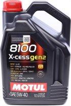 Моторное масло Motul X-cess 8100 gen2 5W-40 5 л (368206) - изображение 1
