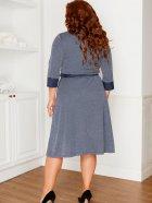 Платье Line Up 1746 50 Синее (2000000526195_ELF) - изображение 2