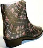 Жіночі гумові чоботи ALS 351-56-241 39 темно-сірий+коричневий+чорний ALS XA-3A 203 SB - зображення 8