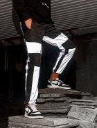 Спортивные штаны карго BEZET Black/Reflective' 21 1412 M Черные (ROZ6400031504) - изображение 3