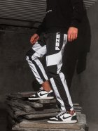 Спортивные штаны карго BEZET Black/Reflective' 21 1412 M Черные (ROZ6400031504) - изображение 4