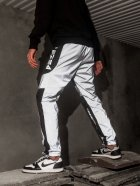Спортивні штани карго BEZET Black/Reflective' 21 1412 S Чорні (ROZ6400031503) - зображення 5