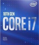 Процесор Intel Core i7-10700KF 3.8 GHz / 16 MB (BX8070110700KF) s1200 BOX - изображение 3