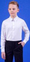 Сорочка Zironka Classic Boy 42-9003-1 146 см Біла (ROZ6205115692) - зображення 5