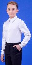 Сорочка Zironka Classic Boy 42-9003-1 146 см Біла (ROZ6205115692) - зображення 6