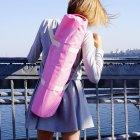 Сумка-чехол для йога коврика Foyo Pink 67x16 см Розовый с молочными ручками (01082) - изображение 4
