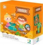 Настольная тактильная игра DoDo Инструменты (300204) (4820198241308) - изображение 1