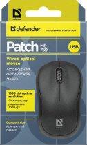 Миша Defender Patch MS-759 USB Black (52759) - зображення 6