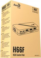 Хаб для керування RGB-підсвіткою Aerocool H66F 6 x 6-pin ARGB + 2 x 3-pin 5V (H66F HUB) - зображення 5