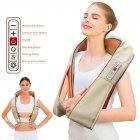 Массажёр для всего тела с подогревом Shiatsu Massager of Neck Kneading iTrendy Original 6 кнопок - изображение 1