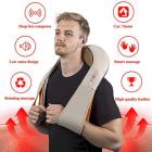 Массажёр для всего тела с подогревом Shiatsu Massager of Neck Kneading iTrendy Original 6 кнопок - изображение 2