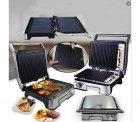 Електричний гриль DSP KB1048 з антипригарним покриттям потужність 1800 Вт з регулюванням температурою - зображення 3