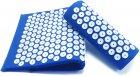 Килимок + подушка (валик) аплікатор Кузнєцова Масажний масажер для спини/ніг OSPORT (apl-011) Синій - зображення 3