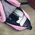 Женский рюкзак TRAVEL розовый большой - изображение 6