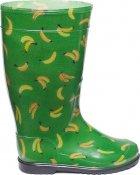 Резиновые сапоги OLDCOM Бананы на зеленом фоне 41-42 (4841347004476) - изображение 1