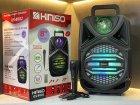 """Беспроводная аккумуляторная Bluetooth колонка Kimiso QS-4002 (8"""") с микрофоном и пультом - изображение 7"""