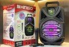 """Беспроводная аккумуляторная Bluetooth колонка Kimiso QS-4002 (8"""") с микрофоном и пультом - изображение 10"""