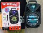 """Беспроводная аккумуляторная Bluetooth колонка Kimiso QS-4002 (8"""") с микрофоном и пультом - изображение 11"""