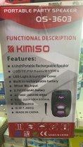 """Аккумуляторная беспроводная Bluetooth колонка Kimiso QS-3603 (6.5"""") с микрофоном и подсветкой - изображение 10"""