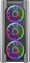 Корпус 1stPlayer DX-4R1-PLUS-BK Color LED Black - изображение 2