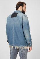 Чоловіча блакитна джинсова куртка D-SERLE Diesel S A01959 009SA - зображення 4