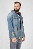 Чоловіча блакитна джинсова куртка D-SERLE Diesel L A01959 009SA - зображення 3