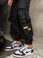 Cпортивные штаны BEZET Hype Black'20 1411 XS Черные (ROZ6400031857) - изображение 4