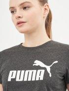Футболка Puma Ess Logo Tee 58677407 S Dark Gray Heather (4063697272293) - изображение 4