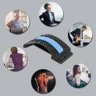 Масажер для спини Magic back Arivans з м'якою вставкою синій - зображення 3