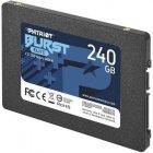 """Накопичувач SSD 2.5"""" 240GB Burst Elite Patriot (PBE240GS25SSDR) - зображення 3"""