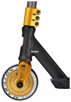 Трюковий самокат Maraton Wall Ride Black-Gold з пегами - зображення 4