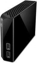 Жорсткий диск Seagate Backup Plus Hub 14 TB STEL14000400 3.5 USB 3.0 External Black - зображення 4