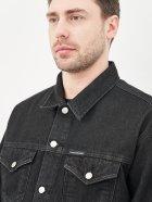 Джинсова куртка Calvin Klein Jeans Dad Denim Jacket J30J318076-1BY XL Denim Black (8719853756102) - зображення 4