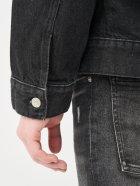 Джинсова куртка Calvin Klein Jeans Dad Denim Jacket J30J318076-1BY XL Denim Black (8719853756102) - зображення 5
