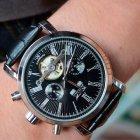 Чоловічі годинники Jaragar Silver Star - зображення 10