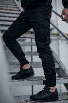 """Штани чоловічі коттоновие Intruder """"Baza"""" штани осінні   весняні   літні чорні L - зображення 1"""