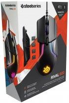 Провідна ігрова миша з підсвіткою SteelSeries Rival 600 Black (62446) - изображение 4