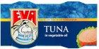 Тунець EVA філе в олії 80 г х 2 шт. (3856020234256) - зображення 1