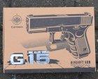 Страйкбольный пистолет Глок 17 (Glock 17) Galaxy G15 - зображення 5