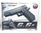 Страйкбольный пистолет Galaxy G6+ (Colt M1911) с кобурой - зображення 7