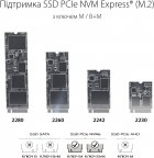 Внешний карман Asus ROG Strix Arion Lite для M.2 SSD NVMe (PCIe) - USB 3.2 Type-C (ESD-S1CL/BLK/G/AS) - изображение 3