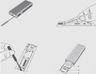 Зовнішня кишеня Maiwo для M.2 SSD NVMe (PCIe) / M.2 SSD SATA — USB 3.1 Type-C (K1687P2) - зображення 12