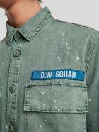 Джинсова куртка Zara 8062/312/519-ACVR S М'ятна (DD3000002815104) - зображення 5