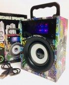 Портативная колонка KTS-668 аккумуляторная с Bluetooth 5W Разноцветная - изображение 1