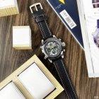 Часы наручные AMST 3022 Silver-Black Fluted Wristband - изображение 6