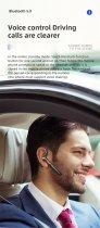 Гарнітура Bluetooth Kebidu ME-100 Black - зображення 2