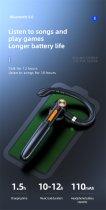 Гарнітура Bluetooth Kebidu ME-100 Black - зображення 5