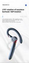 Гарнітура Bluetooth Kebidu ME-100 Black - зображення 6